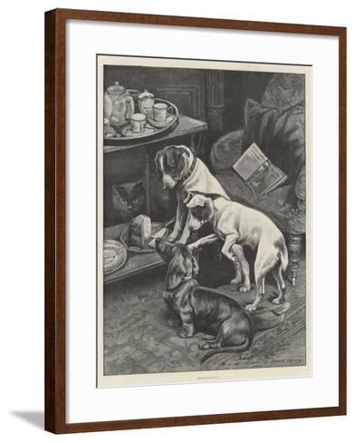 Temptation-Fannie Moody-Framed Art Print