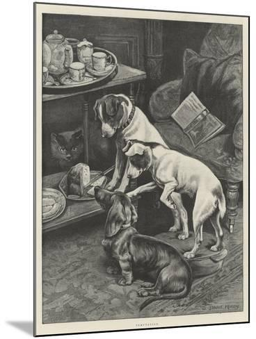 Temptation-Fannie Moody-Mounted Giclee Print
