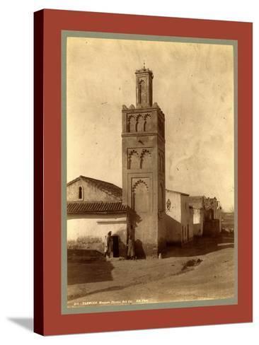 Tlemcen Djama Mosque Bab Zir, Algiers-Etienne & Louis Antonin Neurdein-Stretched Canvas Print