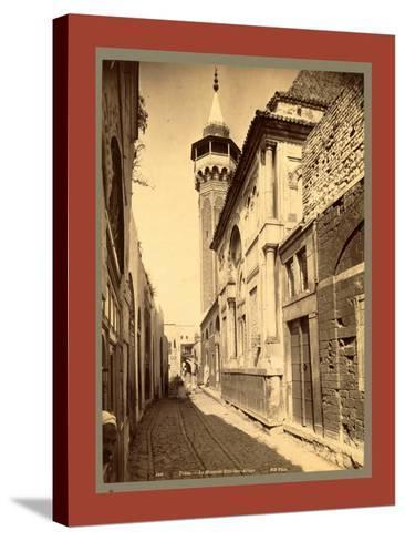 Tunis Mosque Sidi Ben Arous, Tunisia-Etienne & Louis Antonin Neurdein-Stretched Canvas Print