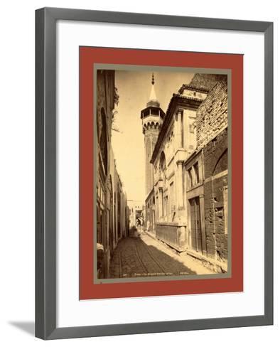 Tunis Mosque Sidi Ben Arous, Tunisia-Etienne & Louis Antonin Neurdein-Framed Art Print