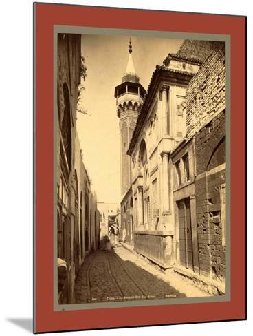 Tunis Mosque Sidi Ben Arous, Tunisia-Etienne & Louis Antonin Neurdein-Mounted Giclee Print