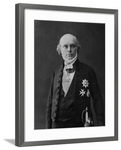 Portrait of Jean Louis Armand De Quatrefages De Breau-Eugene Pirou-Framed Art Print