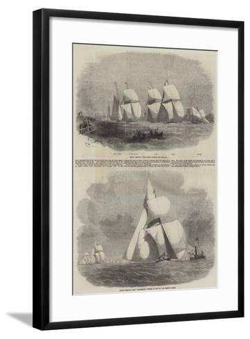 Boston Yacht Club Regatta-Edwin Weedon-Framed Art Print