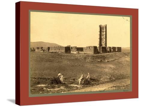 Tlemcen Enclosure Mansoura, Algiers-Etienne & Louis Antonin Neurdein-Stretched Canvas Print