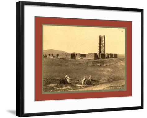 Tlemcen Enclosure Mansoura, Algiers-Etienne & Louis Antonin Neurdein-Framed Art Print