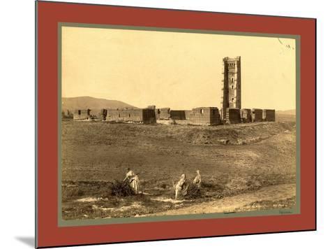 Tlemcen Enclosure Mansoura, Algiers-Etienne & Louis Antonin Neurdein-Mounted Giclee Print