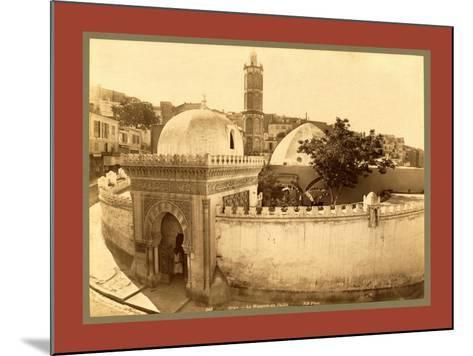 Oran, the Pasha Mosque, Algiers-Etienne & Louis Antonin Neurdein-Mounted Giclee Print