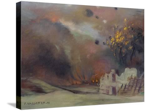 War, 1915-Felix Edouard Vallotton-Stretched Canvas Print
