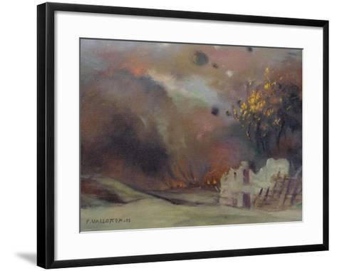 War, 1915-Felix Edouard Vallotton-Framed Art Print