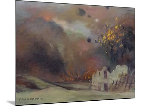 War, 1915-Felix Edouard Vallotton-Mounted Giclee Print