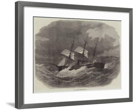 HMS Captain, Lately Lost at Sea-Edwin Weedon-Framed Art Print