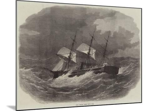 HMS Captain, Lately Lost at Sea-Edwin Weedon-Mounted Giclee Print