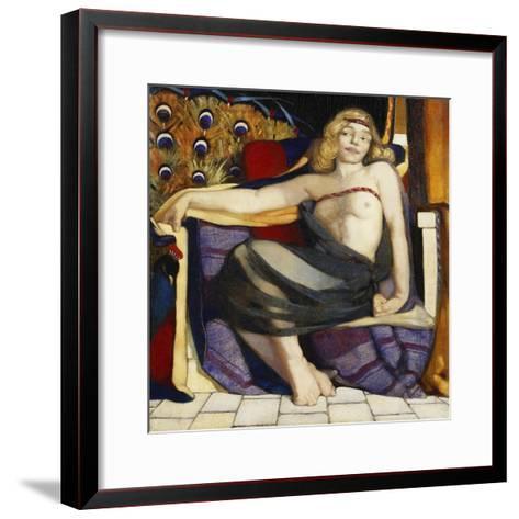 Odalisque-Eric Harald Macbeth Robertson-Framed Art Print