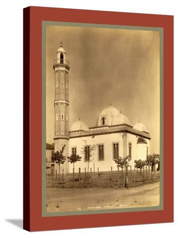 Sidi Bel Abbes Mosque, Algiers-Etienne & Louis Antonin Neurdein-Stretched Canvas Print