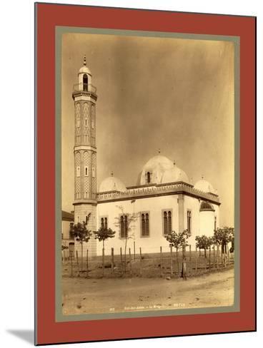 Sidi Bel Abbes Mosque, Algiers-Etienne & Louis Antonin Neurdein-Mounted Giclee Print