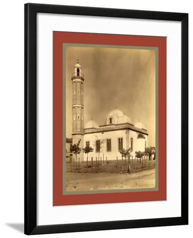 Sidi Bel Abbes Mosque, Algiers-Etienne & Louis Antonin Neurdein-Framed Art Print