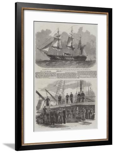 Loss of the Conqueror-Edwin Weedon-Framed Art Print