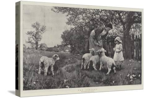 The Nursery-Ernest Albert Waterlow-Stretched Canvas Print