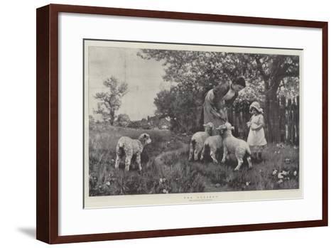 The Nursery-Ernest Albert Waterlow-Framed Art Print