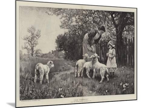 The Nursery-Ernest Albert Waterlow-Mounted Giclee Print