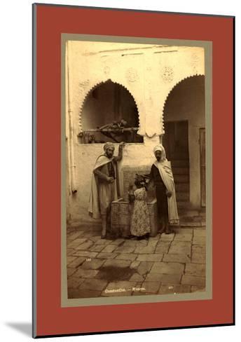 Constantine, Moors, Algiers-Etienne & Louis Antonin Neurdein-Mounted Giclee Print