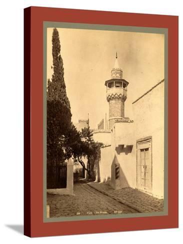Tunis, a Mosque, Tunisia-Etienne & Louis Antonin Neurdein-Stretched Canvas Print