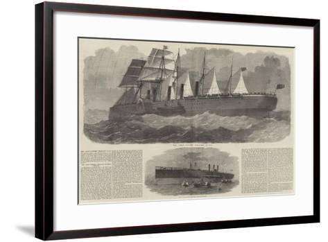 The Great Eastern-Edwin Weedon-Framed Art Print