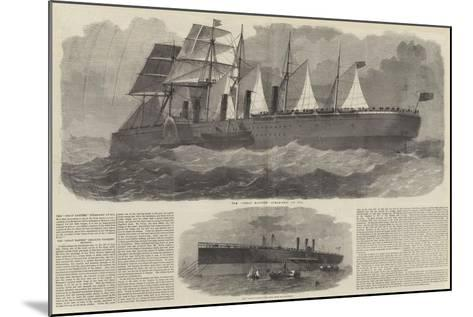 The Great Eastern-Edwin Weedon-Mounted Giclee Print
