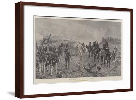 Napoleon and the Old Guard-Ernest Crofts-Framed Art Print