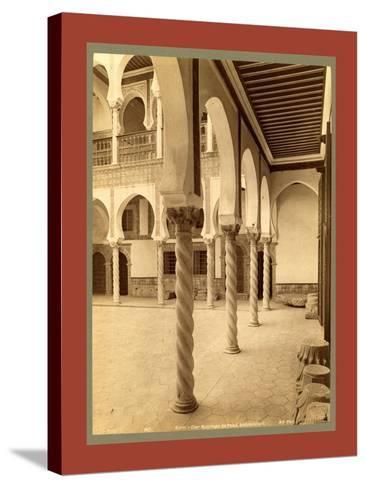 Moorish Palace, Algiers-Etienne & Louis Antonin Neurdein-Stretched Canvas Print
