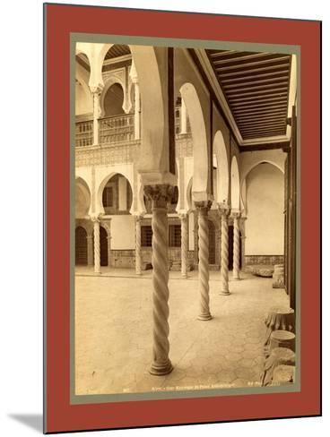 Moorish Palace, Algiers-Etienne & Louis Antonin Neurdein-Mounted Giclee Print