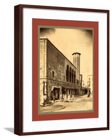 Tunis, Tunisia-Etienne & Louis Antonin Neurdein-Framed Art Print