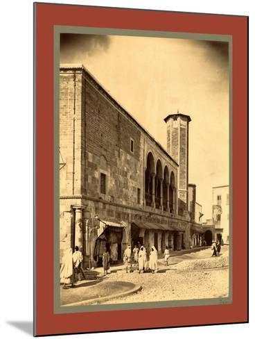 Tunis, Tunisia-Etienne & Louis Antonin Neurdein-Mounted Giclee Print