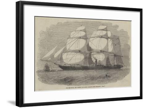 The Peninsular and Oriental Navigation Company's New Steam-Ship Pera-Edwin Weedon-Framed Art Print