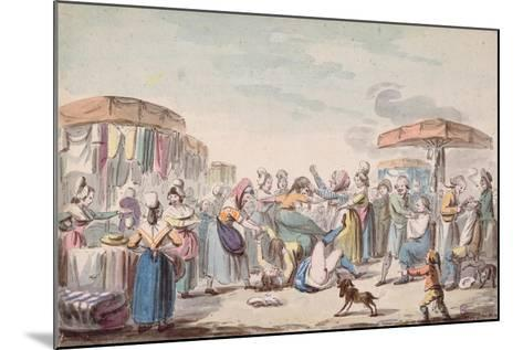 Fair During the Period of the French Revolution, C.1789-Etienne Bericourt-Mounted Giclee Print