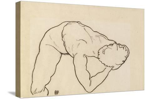 Female Nude, 1918-Egon Schiele-Stretched Canvas Print
