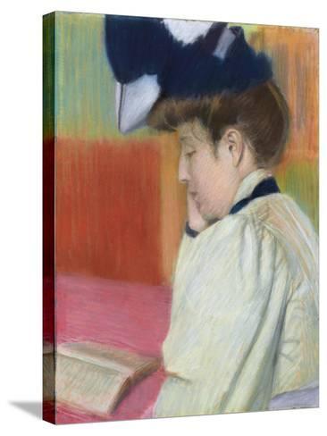 Woman Reading; Femme Lisant, C. 1890-Federigo Zandomeneghi-Stretched Canvas Print