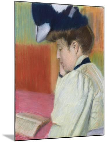 Woman Reading; Femme Lisant, C. 1890-Federigo Zandomeneghi-Mounted Giclee Print