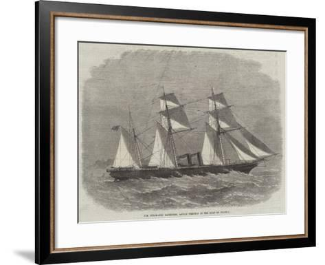 Hm Steam-Ship Racehorse, Lately Wrecked in the Gulf of Pecheli-Edwin Weedon-Framed Art Print