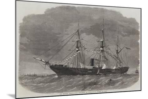 The Federal Sloop-Of-War Tuscarora in Southampton Water-Edwin Weedon-Mounted Giclee Print