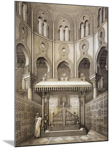 Tomb of Sultan Qalaum (14th Century) in Cairo-Emile Prisse d'Avennes-Mounted Giclee Print