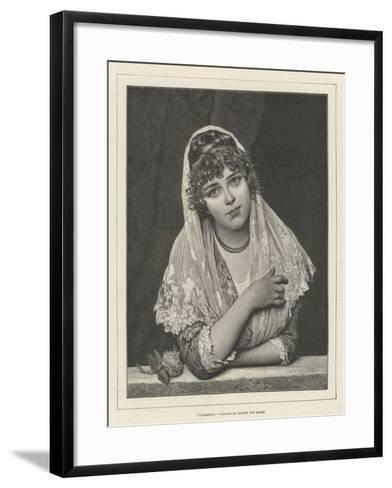 Fiammetta-Eugen Von Blaas-Framed Art Print