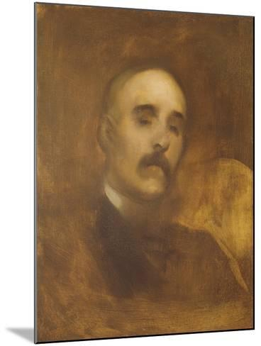 Georges Clemenceau (1841-1929)-Eugene Carriere-Mounted Giclee Print