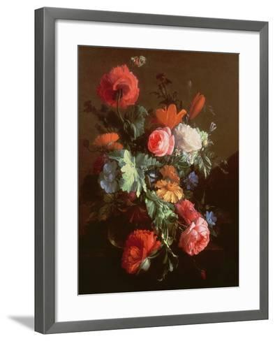 Poppies-Elias Van Den Broeck-Framed Art Print