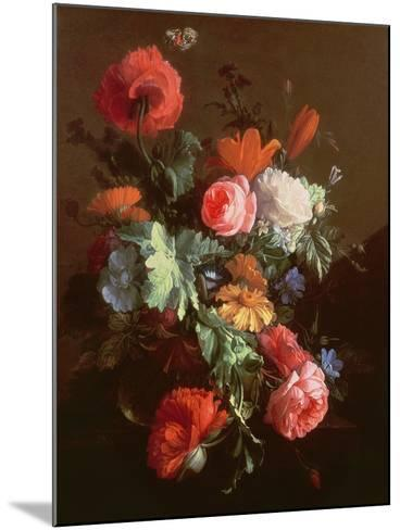 Poppies-Elias Van Den Broeck-Mounted Giclee Print