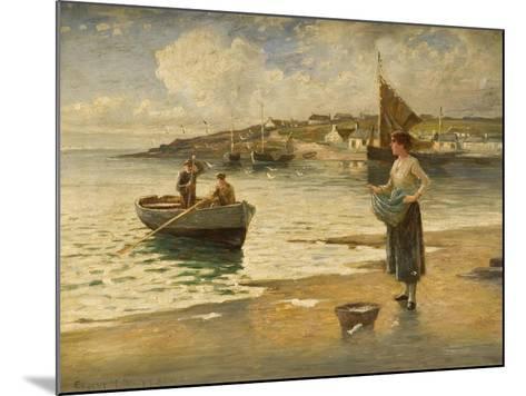 Landing a Catch, B-Eugene Joseph McSwiney-Mounted Giclee Print