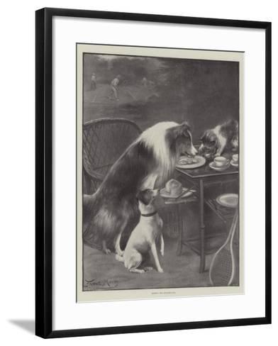 Seizing the Opportunity-Fannie Moody-Framed Art Print