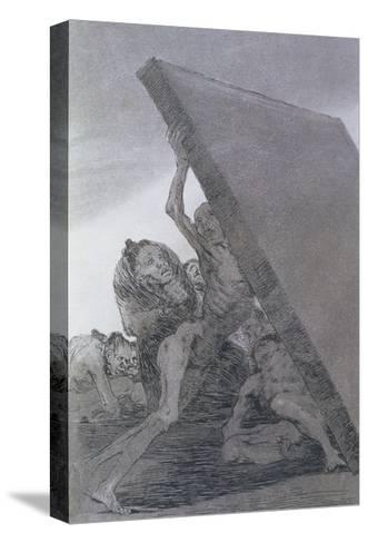193-0082159 and Still They Don't Go!, Plate 59 of 'Los Caprichos', 1799-Francisco de Goya-Stretched Canvas Print