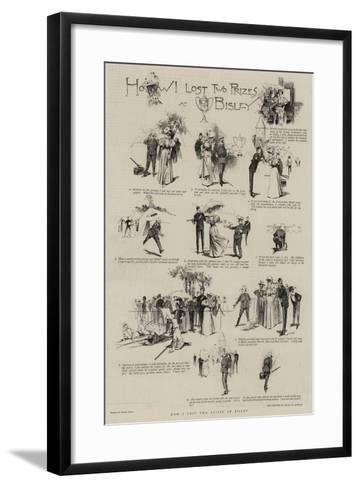 How I Lost Two Prizes at Bisley-Frank Craig-Framed Art Print